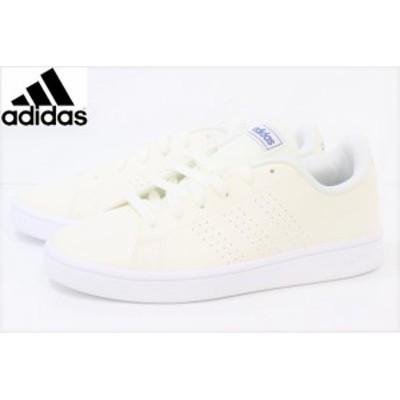 【40%off】白靴 通学靴 アディダス カジュアル スニーカー adidas ADVANCOURTBASE EG3780 WHITE
