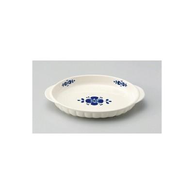 三陶 萬古焼 ファミリーグラタン皿 大皿 ノルディック ブルー 14649 ノルディック レッド 14651