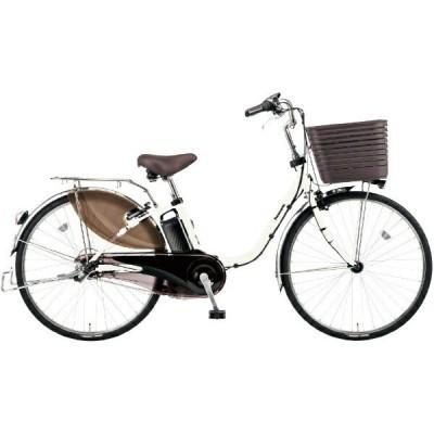PANASONIC BE-ELD436-F2 フェザーホワイト ビビ・DX [電動アシスト自転車(24インチ・内装3段)] 電動自転車