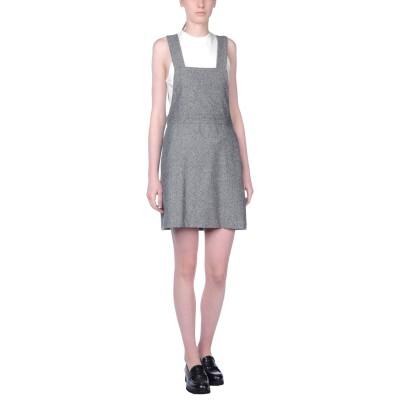 OTTOD'AME ジャンパースカート ブラック 42 ウール 52% / ポリエステル 30% / コットン 18% ジャンパースカート