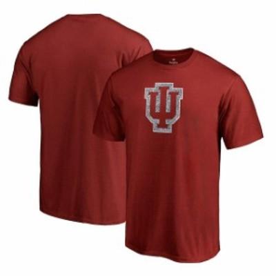 Fanatics Branded ファナティクス ブランド スポーツ用品  Fanatics Branded Indiana Hoosiers Cardinal Static Logo T-Shirt