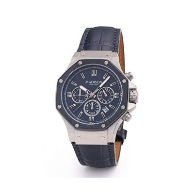 マディソンニューヨーク 腕時計 MA011003-3 メンズ