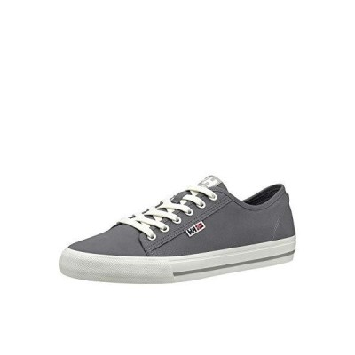 Helly-Hansen Mens Fjord Low-Cut Canvas Deck Shoe V2, 964 Charcoal/New Light