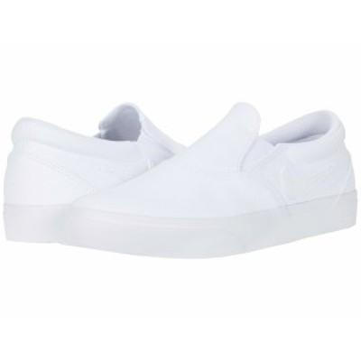 ナイキ メンズ スニーカー シューズ Charge Slip White/White/White/Black