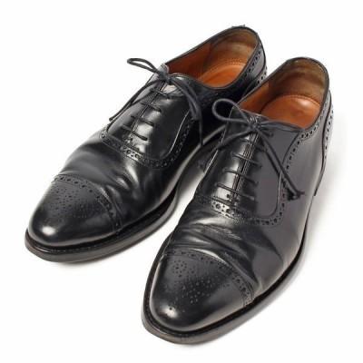 ジャラン スリワヤ JALAN SRIWIJAYA 98441 セミブローグ キャップトゥ UK9 レザー シューズ メンズ 靴 革靴 紳士靴 【中古】