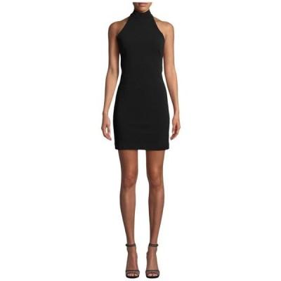 ニコルミラー レディース スカート ドレス Mock Neck Mini Dress