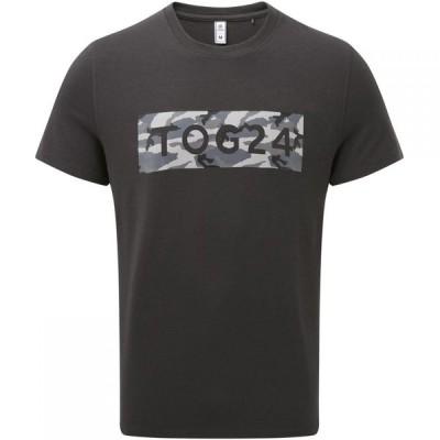 トッグ24 Tog 24 メンズ Tシャツ トップス towler performance graphic t shirt Charcoal