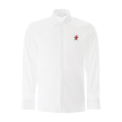 ニールバレット メンズ シャツ トップス Neil Barrett Thunderbolt Printed Shirt -