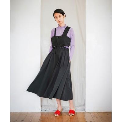 anlio / 2021春夏 ブロックコンビネゾンスカート WOMEN オールインワン・サロペット > サロペット/オーバーオール
