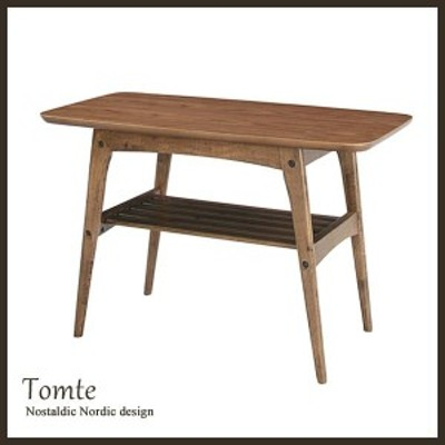 センターテーブル トムテ コーヒーテーブル S Tomte TAC-227WAL 木製