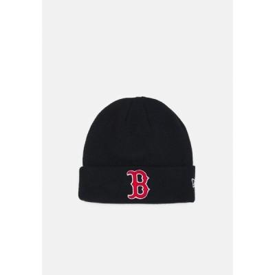 ニューエラ 帽子 メンズ アクセサリー ESSENTIAL CUFF BOSRED UNISEX - Beanie - navy