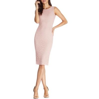 ドレスザポプレーション ワンピース トップス レディース Kendra Embroidered Lace Body-Con Dress Blush