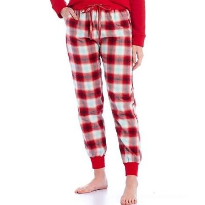 ジャスミンアンド ジンジャー レディース カジュアルパンツ ボトムス Yarn Dye Plaid Portuguese Flannel Jogger Sleep Pants