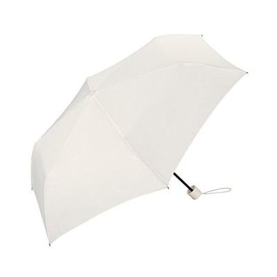 ワールドパーティー(Wpc.) 雨傘 折りたたみ傘  オフホワイト 白  55cm  レディース メンズ ユニセックス 超撥水 ア