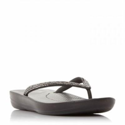 フィットフロップ Fitflop レディース シューズ・靴 Qushn Sparkl Ld13 Black