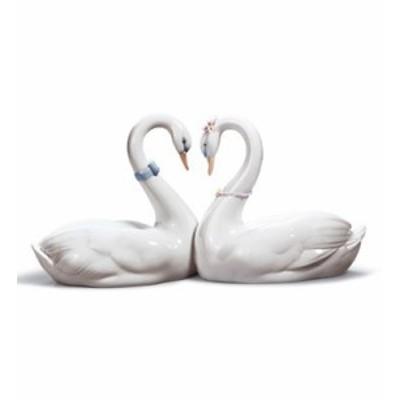 リヤドロ エンドレスラブ 01006585 白鳥 ブライダルギフトや結婚祝いに LLADRO