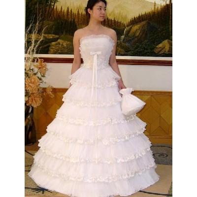 wdk021D ウエディングドレス ハンドバック付 工場直送 格安オーダー可能ドレス
