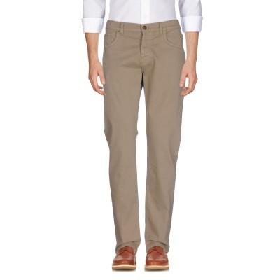 LIU •JO MAN パンツ カーキ 44 98% コットン 2% ポリウレタン パンツ