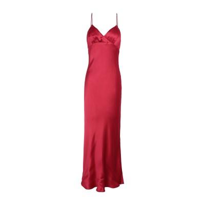 BEC & BRIDGE ロングワンピース&ドレス レッド 6 レーヨン 100% ロングワンピース&ドレス