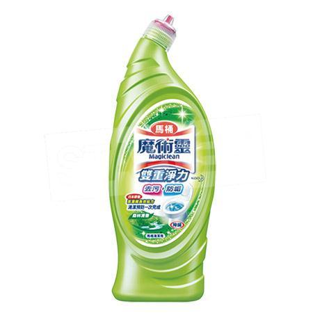 【魔術靈】雙重淨力馬桶清潔劑-森林清香 650ml