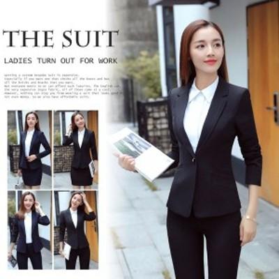 スーツ フォマールスーツ スカートスーツ 三点セット スーツジャケット シャツ 膝丈 スカート OL通勤ウエア セット オフィス就