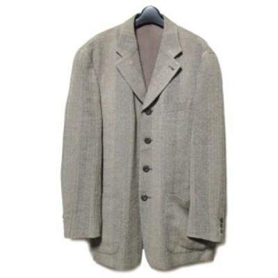 80's vintage JUN MEN「L」4B ボックスシルエットジャケット (ジュン メン ヴィンテージ ビンテージ) 061585【中古】