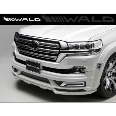 WALD ヴァルド ランドクルーザー URJ202W (H27.8~) フロントスポイラー ABS製 未塗装 [ SPORTS LINE ] ランクル 200
