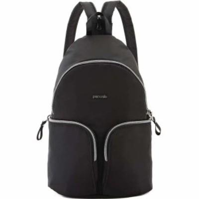 パックセーフ Pacsafe レディース バックパック・リュック バッグ Stylesafe Sling Backpack Black