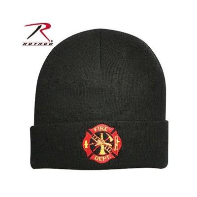 Rothco ニットキャップ 5356 ファイアデパートメント FIRE DPT 消防 | ウォッチキャップ フリースキャップ スキー帽 ニット帽