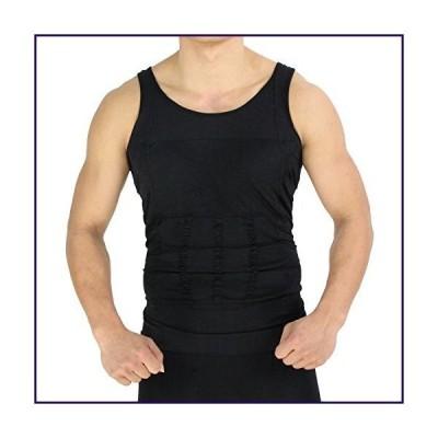 TASOM Mens Slimming Body Shaper Sporting Compression Vest Slim Shirt Tummy Waist Undergarment Undershirts T-shirt Elastic Body Sculpting Ves