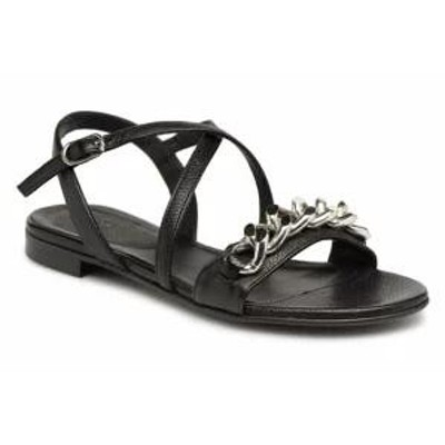 Billi Bi レディースサンダル Billi Bi Sandals LIBELLULA Black BLACK/SILVER CHAIN