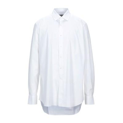 バグッタ BAGUTTA シャツ ホワイト 45 コットン 75% / ナイロン 23% / ポリウレタン 2% シャツ