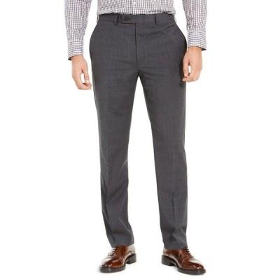 ラルフローレン カジュアルパンツ ボトムス メンズ Men's Wool Blend Classic-Fit UltraFlex Stretch Dress Pants Charcoal