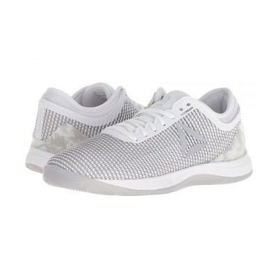 Reebok リーボック レディース 女性用 シューズ 靴 スニーカー 運動靴 CrossFit(R) Nano 8.0 - White/Skull Grey/Pure Silver