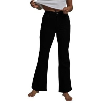 コットンオン デニムパンツ ボトムス レディース Petite Flare Jeans Black