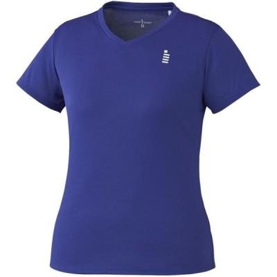 ゴーセン テニス レディース ゲームシャツ 19 ミッドナイトブルー ケームシャツ・パンツ(t1965-16)