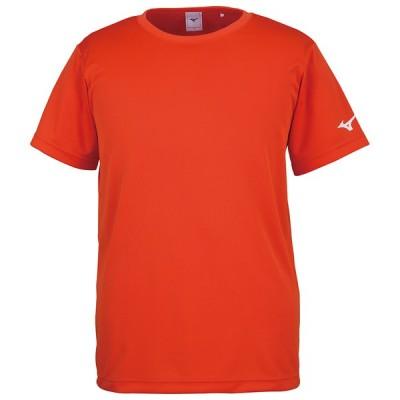 MIZUNO ミズノ Tシャツ(袖RBロゴ) フレイムオレンジ テニス 32JA815654