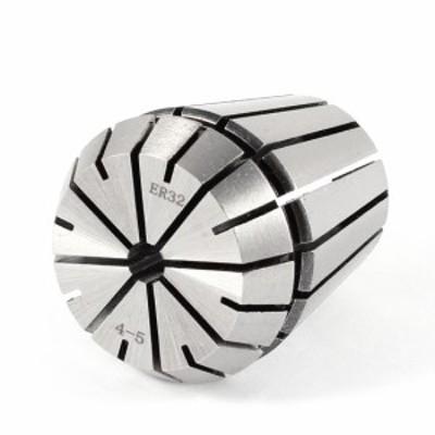 uxcell スプリングコレット 部品 機械 クランピング 耐久性 便利 取り付け簡単 道具 軽量 ER-32 クランプ径5mm