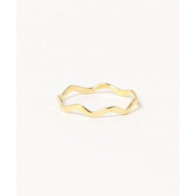 指輪 【V&SSS】小波 キラキラリング (brass)