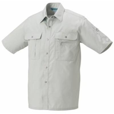 2636 春夏用半袖シャツ (クロダルマKURODARUMA) 社名刺繍無料 S~5L 綿50%・ポリエステル50%