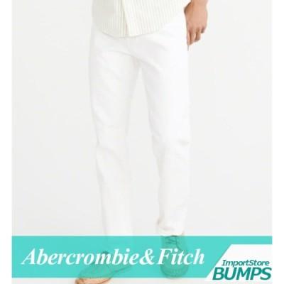 アバクロンビー&フィッチ ジーンズ ジーパン デニムパンツ 90s ストレート メンズ ダメージ加工 ストレッチ ボトムス ズボン 新作 アバクロ