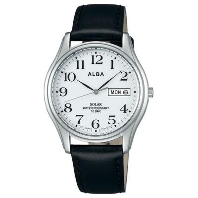 アルバ セイコー ALBA SEIKO ソーラー 10気圧防水  メンズ 腕時計 AEFD543