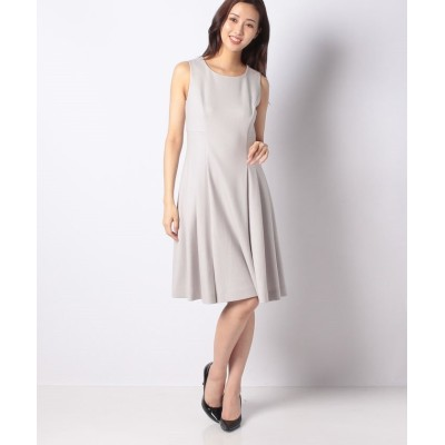 【ミス ジェイ】 ウールメルトン ドレス レディース ベージュ 38 MISS J