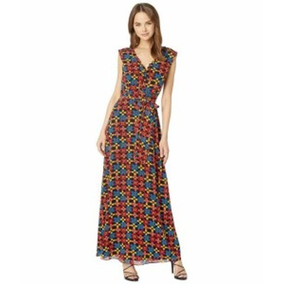 Juicy Couture ジューシークチュール ドレス 一般 Blocked Floral Maxi Dress