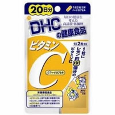 【ゆうパケット配送対象】DHC ビタミンC(ハードカプセル) 20日分 (サプリメント/サプリ)(メール便)