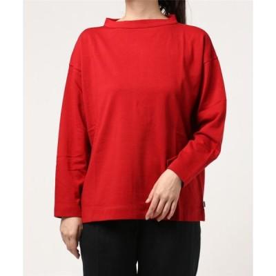 tシャツ Tシャツ 【ORCIVAL】モックネックプルオーバー WOMEN