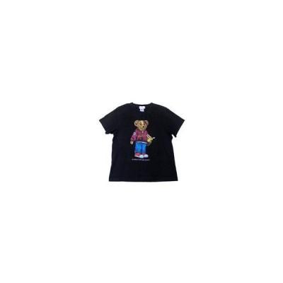中古Tシャツ(女性アイドル) SCANDAL BEAR Tシャツ ブラック Sサイズ 「SCANDAL