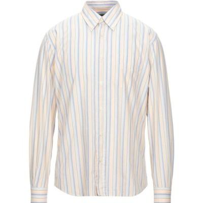 ニューイングランド NEW ENGLAND メンズ シャツ トップス striped shirt Light pink