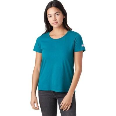 トポ デザイン Topo Designs レディース Tシャツ トップス classic t-shirt Teal