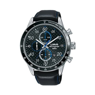 Lorus Sport Man Mens Analogue Quartz Watch with Leather Bracelet RM341EX9 並行輸入品